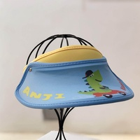 Children's hat sun visor sun hat big brim hat UV protection