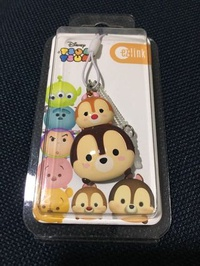 Tsum Tsum ezlink charm (chip and dale)