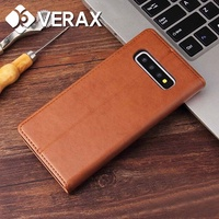 Galaxy A50 full cover card storage stand leather case P065