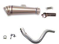 KTM DUKE250 DUKE390 2014-2016 LCI GP鈦女式無袖內衣開圍巾 LCIPARTS EXHAUST