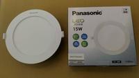 國際牌Panasonic LED 15W薄型崁燈(挖孔尺寸15cm)白光6500k(3入)