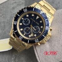 媛馨代購Michael Kors MK8267 時尚鋼帶圓盤石英錶 三眼計時腕錶 手錶 美國