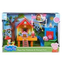 【崑山玩具x日韓精品】粉紅豬小妹-歡樂樹屋遊戲組/佩佩豬/Peppa Pig