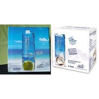 免運《好市多限時特價》Koh 純椰子汁 1公升 X 6入/箱椰子水、Koh Coconut 椰奶 1公升 X 6入/箱
