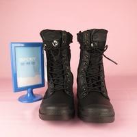 【iSport 愛運動】Palladium PAMPA TACTICAL 皮革靴 02604033 男款 黑 公司貨