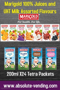 MARIGOLD 100% Juices and UHT Assorted Milk 200mlX24 (Tetra) Promo