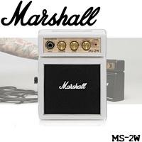 【非凡樂器】『Marshall MS-2W 迷你電吉他音箱』MS2W / 攜帶式音箱 小音箱