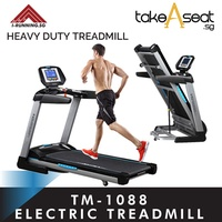 Tm-1088 powerful motorized exercise treadmill foldable running at home