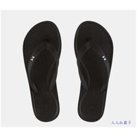 優惠價 UA 女生 拖鞋 Atlantic Dune 人字拖 夾腳拖鞋 1252540-002 黑