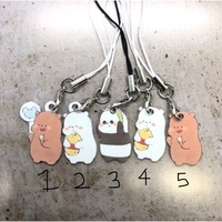 [Customised] We Bare Bear Keychains