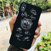 BTS BT21 Apple iPhone 6 / 6S / 7 / 8 Plus X Cases Bullet Proof Youth Club Avada Kedavra Cool Harry P