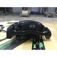 Golf R 原廠卡鉗+煞車皮 9.5成新