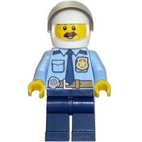 [想樂]『人偶』全新 樂高 Lego CTY703 城市系列 CITY 警察 Police (60137)