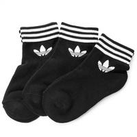 Kumo shoes-ADIDAS Originals SOCKS 襪子 三葉草 短襪 黑 AZ5523