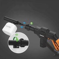 Portable Cordless Hydroshot Portable Power Cleaner Li-ion 320psi 12V Pressure Washer Cleaner g*n Car Washer