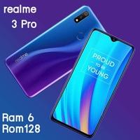 Realme 3 Pro Ram6/128GB เครื่องใหม่ศูนย์แท้รับประกัน 1 ปี แถมฟรี! ชุด Giftset (สี  Nitro Blue)