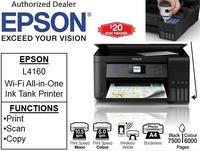 Epson EcoTank L4160 WIFI Ink Tank Printer (Print, Scan, Copy) bundle with CNY gift: 16GB Flash Drive   ** Free $20 NTUC Voucher Till 2nd Mar 2019 **  L 4160