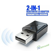 rfღWireless USB Bluetooth Adapter 5.0 Music Audio Receiver Transmitter for PC