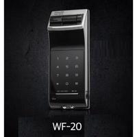 出清含運#我最便宜#現貨#指紋鎖密碼輔助門鎖Gateman WF-20 WF20原裝進口開門不需帶鑰匙(Yale參考)