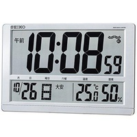 SEIKO CLOCK ( Seiko clock ) wall clock table clock combined digital radio clock