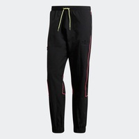 adidas ORIGINALS Track Pant 男款 黑粉 縮口 口袋 長褲 FR0592