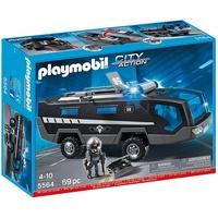(卡司 正版現貨) Playmobil Special Plus 摩比人 PM05564 機動部隊指揮車 摩比積木 禮物