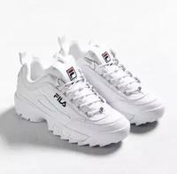 FILA | รองเท้าผ้าใบ FILA Disruptor II shoes สีขาว