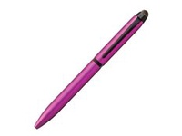 Uni Jetstream Stylus Rollerball Multi-Pen With Touchscreen Function (Pink Color)