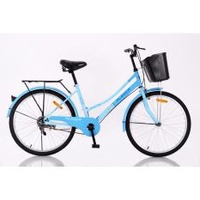 "Aleoca 24"" City Bicycle Garden City (Blue)"