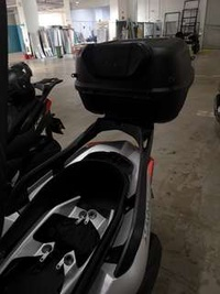 OEM Yamaha Xmax 300 Rack with Givi E43