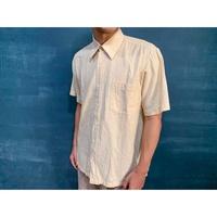 鮪魚wear x vintage [皮爾卡登襯衫] 襯衫 男女款 麻色襯衫 現貨 只有一件 古著