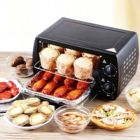 Home Mini Electric Oven Multifunctional Double Layer Electric Oven
