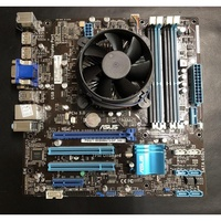 CPU i7-3770+ASUS P8Q77-M/BM6675/DP_MB 主機板/1155腳位