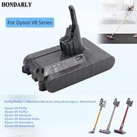 V8 3500mAh 21.6V Battery For Dyson V8 Battery Absolute V8 Animal Li-ion Vacuum Cleaner Rechargeable