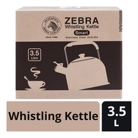 Zebra Stainless Steel Whistling Kettle
