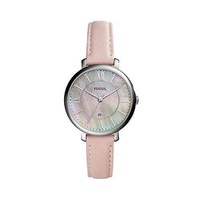 [Fossil] Fossil Women's ES4151 Jacqueline Three-Hand Date Blush Leather Watch [From USA] - intl