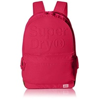 Superdry Unisex Lineman Embossed Montana Backpack, Magenta, One Size