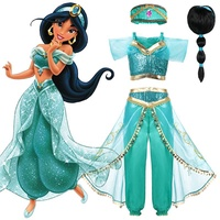 discount Kid Aladdin and the Magic Lamp s Princess Jasmine Top Pants Clothing Set with Headband Girl