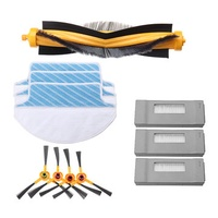 Main Brush Filters Side Brushes Mop Cloths Replacement Accessories for Ecovacs Robot Deebot