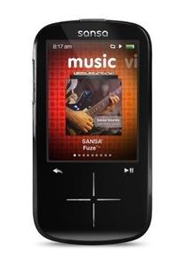 SanDisk Sansa Fuze+ 4 GB MP3 Player - Non-Retail Packaging - Black B01GDA71NO