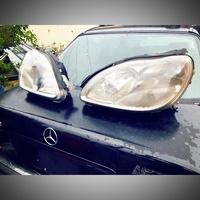 Benz W220 正BOSCH原廠大燈一對 賓士 奔馳