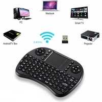 I8 Wireless/Air Mini Touchpad Keyboard/Mouse Keypad (Win8/Win7/Mac/PC//Android) remote control Air Mouse For Unblock UBOX TV BOX PC Laptop Tablet