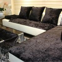 新品 居家用品 實用 歐式皮沙發墊巾罩套防滑布    沙發墊  貴妃椅墊  餐椅墊 簡約 創意