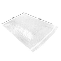 """Uboxes Bubble Out Bags 12"""" X 15.5"""" Clear Protective Wrap Cushioning Pouches Self Sealing Pack of 25. Protect Your Delicate Items. , 12"""" x 15.5"""""""