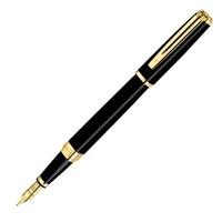 WATERMAN  至尊系列  黑桿金夾鋼筆