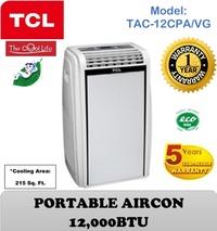 [TCL] Portable Aircon(12000BTU)(Model: TAC-12CPA/VG)
