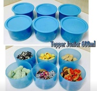 Tupperware one touch blue 600ml (6)