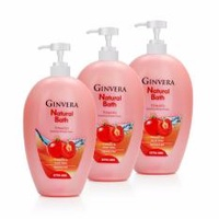 Ginvera Natural Bath Tomato Nourish Shower Foam 1000gx3