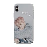 BTS  Jimin KPOP Bangtan Boys iphone Universal TPU Phone Case For Apple iPhone 8 7 6 6S Plus X XS MAX