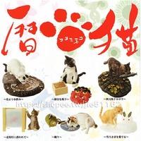 YUJIN日本貓咪暦猫家貓場景和風昭和貓扭蛋